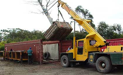 If required we can even transport trees for overseas locations.